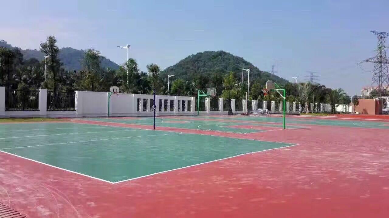 东莞师范学校附属小学 硅PU球场